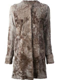 DROME Reversible Lamb Fur Coat &1714