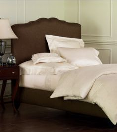 All White Custom Bedding - ABC offers high-end bedding from Eastern Accents. Eastern Accents uses the most up-to-date fabrics and trims, with impeccable attention to detail. The overall quality and look are the finest on the market for ready-made bedding.