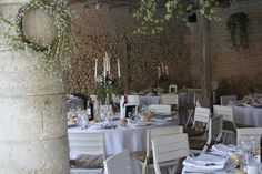 The summer dining room. The perfect place to be when it is 40c outside