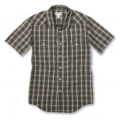bf7845fe65ad  Carhartt  Workwear   Snap Front Plaid Shirt S S - find more