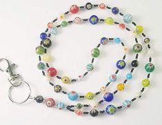 Beaded Bookmarks, Beaded Lanyards, Handmade Beaded Jewelry, Jewel Tones, Chains, Eyeglasses, Beaded Necklace, Jewels, Free Shipping