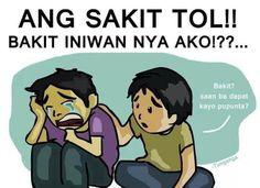 Tagalog Jokes - Best Funny Tagalog Jokes The best funny tagalog jokes, pinoy jokes, juan jokes tagalog, joke time pinoy, joke quotes tagalog Hugot Lines Tagalog Funny, Tagalog Qoutes, Tagalog Quotes Hugot Funny, Memes Pinoy, Pinoy Quotes, Filipino Quotes, Filipino Funny, Patama Quotes, New Funny Jokes