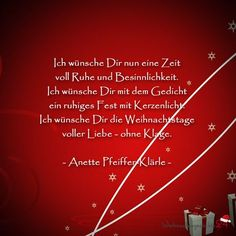 Weihnachtssprüche für Weihnachtsgrüße Best Picture For christmas mood For Your Taste You are looking for something, and it is going to tell you exactly what you are looking for, and … Christmas Poems, Merry Christmas Card, Christmas Mood, Christmas Greetings, Quotes About New Year, Year Quotes, Happy New Year, Birthday Cards, Wisdom
