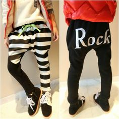 kids harem pants rock n roll drop crotch kids pants harem sweats