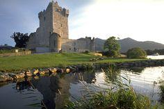 Ross castle, Killarney, Ireland.