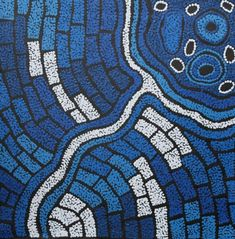 Travelling Women story by Nellie Marks Nakamarra, cm Aboriginal Painting, Aboriginal Artists, Earth Tones, Kids Rugs, Clouds, Culture, Gallery, Travelling, Fun
