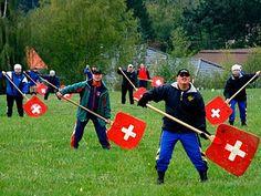 Swiss Hornussen