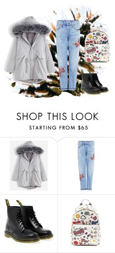 """""""Winter"""" by dahn-pahn on Polyvore featuring мода, WithChic, Citizens of Humanity, Dr. Martens и Anya Hindmarch"""