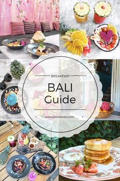 Bali Travel Guide: Top Ten Cafes und Restaurants in Seminyak, Canggu und Kerobokan / Best Breakfast in Bali / Pancakes, Bowls, Hot Cakes, French Toast, Fresh Fruit