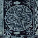 Detail of adire eleko cloth in the Ibadan dun pattern