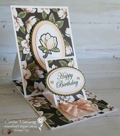 I absolutely LOVE the Magnolia Lane suite of products by Stampin' Up!