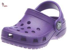 Crocs classic kids - ultraviolet violet enfant sandale sabot CROCS T:33-34 - Chaussures crocs (*Partner-Link)