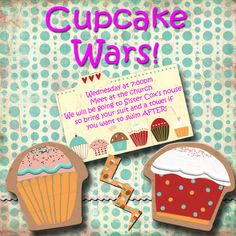 LDS, Young women activity Cupcake Wars- this was a very fun activity @ Gwynn Oliver idea for your ladies meetings