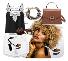 """""""Untitled #20"""" by mirka2011 ❤ liked on Polyvore featuring WithChic, Miss Selfridge, Avon and Michael Kors"""