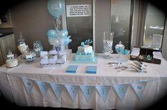 Little Blue Train Baptism Party Ideas | Photo 16 of 16