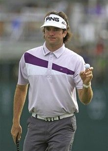 Bubba Watson--Christian golfer.  Watching him in the Masters Tournament this week.