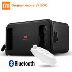 Original Xiaomi VR Mi VR BOX Play Immersive 3D VR Virtual Reality Glasses Headset for 4.7-5.7 Inches Smartphones + Gamepad 5.0