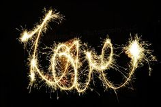 Sparkler writing Believe Love Create your own by MyCreativeCapture Happy Valentines Day, Valentine Gifts, Sparkler Photography, Common Phrases, Name Wall Art, Sparklers, Craft Work, Customized Gifts, Special Gifts