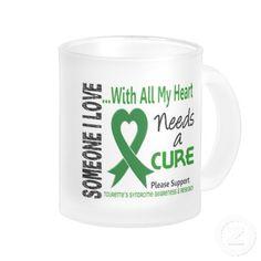 tourette syndrome awareness ribbon | Needs A Cure Tourette's Syndrome Coffee Mug at Zazzle.ca