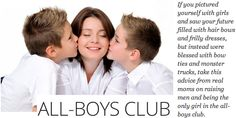 Real moms offer tips on raising boys @SheKnows #parenting #boys