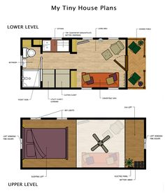 tiny home floor plans | Tiny Houses & Little Lots: Floor Plans for Very Small Homes ...