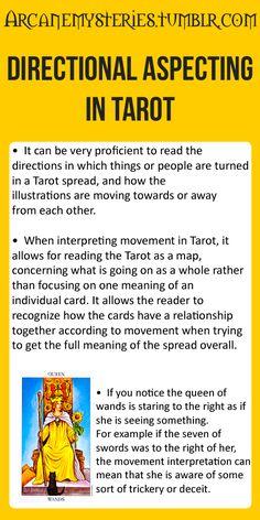 Directional Aspecting In Tarot.