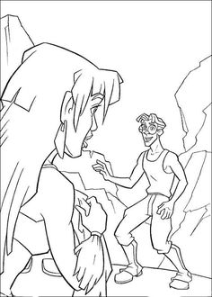 Atlantis Ausmalbilder. Malvorlagen Zeichnung druckbare nº 18