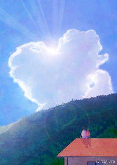 구름이 하늘에 그려준 그림(Cloud gave drawn picture)