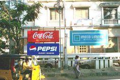 Pepsi is everywhere :)