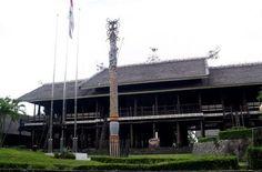 Rumah lamin - Kalimantan Timur