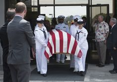 Petty Officer Randall Smith funeral