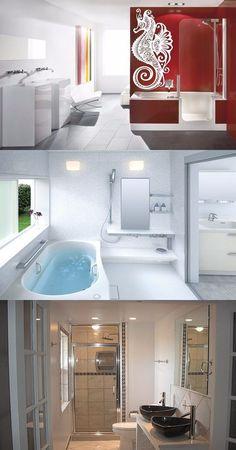 Ideas To Enhance The Modern Design In Your Bathroom - http://interiordesign4.com/ideas-enhance-modern-design-bathroom/