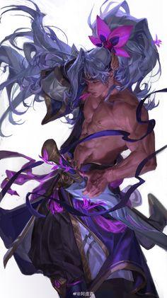 League Of Legends Comic, Champions League Of Legends, League Of Legends Characters, Fantasy Character Design, Character Design Inspiration, Character Art, Desenhos League Of Legends, Handsome Anime Guys, Dark Fantasy Art