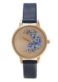 Olivia Burton watch - Gold & Navy