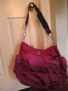 Available @ TrendTrunk.com LULULEMON  BAG. By Lululemon. Only $76.00! I need a new gym bag! This will work:)