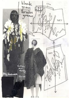 67 trendy ideas for fashion drawing collage portfolio layout Fashion Design Sketchbook, Fashion Drawings, Fashion Sketches, Dress Sketches, Sketchbook Layout, Sketchbook Inspiration, Sketchbook Ideas, Textiles Sketchbook, Illustration Mode