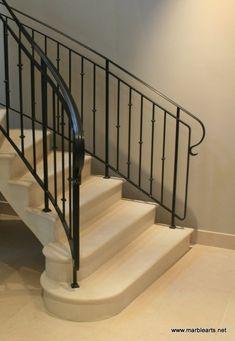 Moelanus limestone staircase in private residence in Newcastle