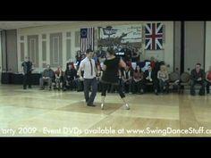 Ben Morris & Nina Gilkenson - Improv West Coast Swing and Lindy Hop    Oh Nina, I love to watch you dance!