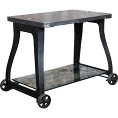 Original, Vintage Industrial, American Made, Console Table/Cart  $2400