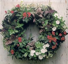 How to Plant a Summertime Living Wreath