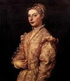 Portrait of a Girl - Titian