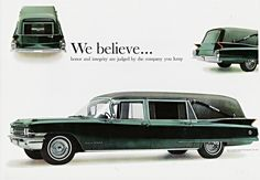 1962 S&S Superline Victoria on Cadillac Chassis Hearse AD