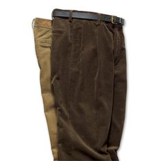 Filson 8-WALE CORDUROY PLEATED FRONT PANTS, Style# 14017    Price: $100.00