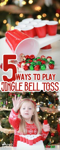 Ways to Play Jingle Bell Toss weihnachtsfeier 5 Ways to Play Jingle Bel. 5 Ways to Play Jingle Bell Toss weihnachtsfeier 5 Ways to Play Jingle Bel., 5 Ways to Play Jingle Bell Toss weihnachtsfeier 5 Ways to Play Jingle Bel. Christmas Party Games For Kids, Christmas Party Table, Xmas Games, School Christmas Party, Holiday Party Games, Kids Party Games, Christmas Fun, Christmas Games For Preschoolers, Preschool Christmas Games