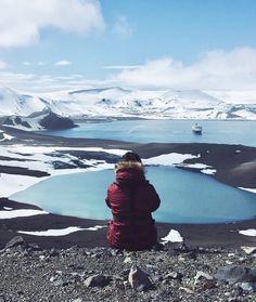 Reise in die Antarktis: Deception Island Vulkanwanderung