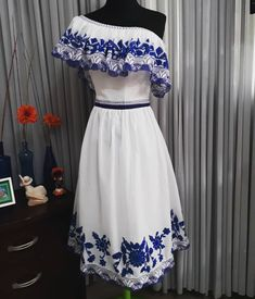 Auristela Amanda Salas Thomas (@adnama.507) | Instagram photos and videos Mexican Dresses, Mexican Style, Fashion Outfits, Womens Fashion, Wardrobes, Dress Making, Designer Dresses, Amanda, Summer Dresses