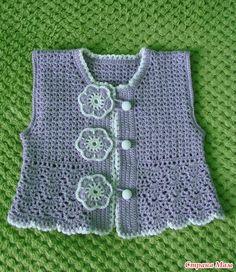 Комплект юбка с жилеткой - Вязание для детей - Страна Мам