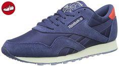 Reebok Damen Classic Nylon Core Sneakers, Blau (Midnight Blue Chalk), 40 26fd438254f5