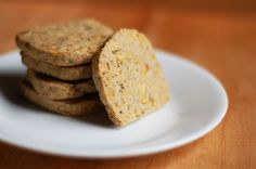 Rosemary-Walnut Brown Butter Cookies. Cut the sugar and you've got a savory treat on your hands with this combo.