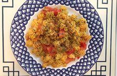 Mixed Herb Quinoa Pasta
